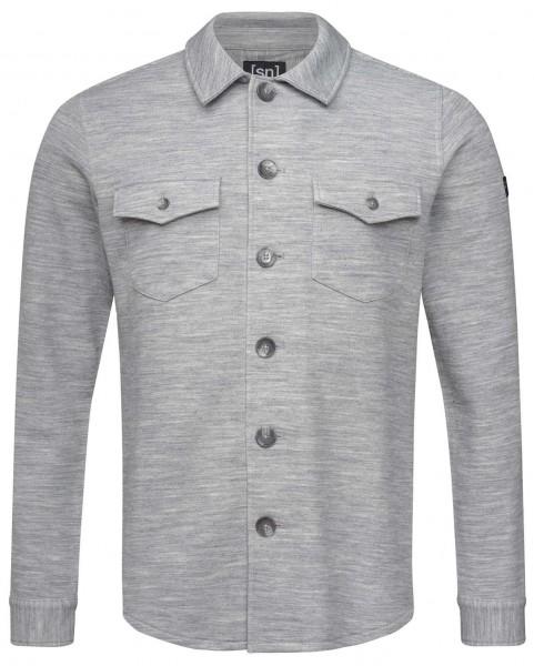 super.natural Knit Jacket Hemd Merino Men