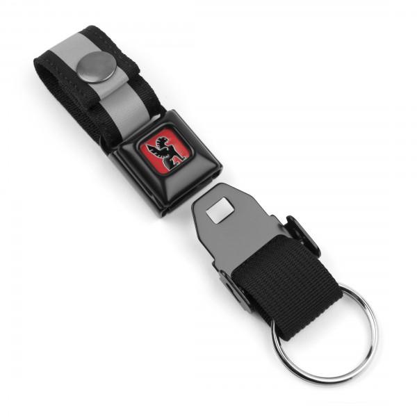 Chrome Mini Buckle Key Chain Schlüsselanhänger
