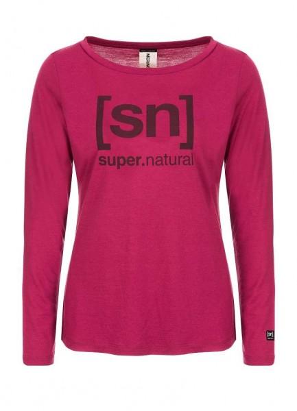 super.natural Essential I.D. LS Women Longsleeve