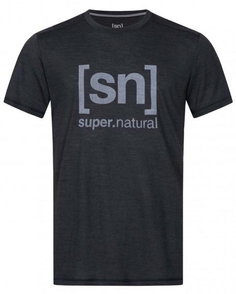 super.natural Logo Tee Men T-shirt Merino