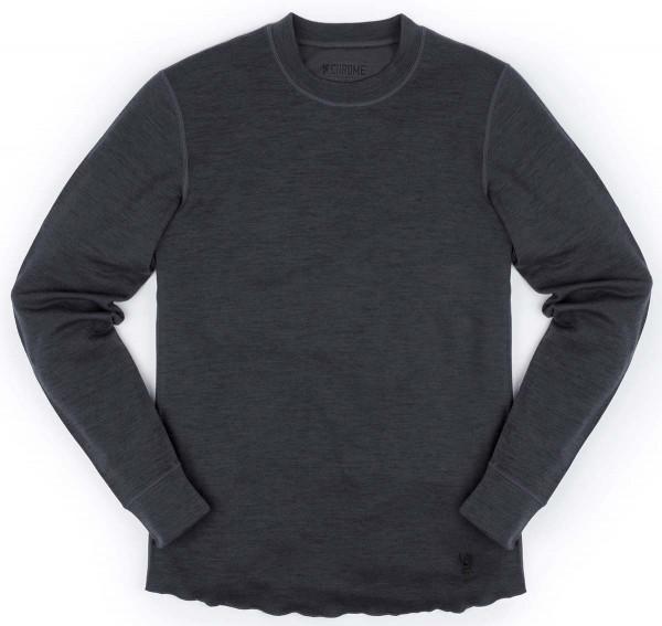 Chrome Wool Crewneck LS Shirt Men Pullover Merino