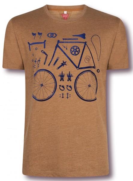 Pièces de bicyclette T-Shirt Men Le Patron