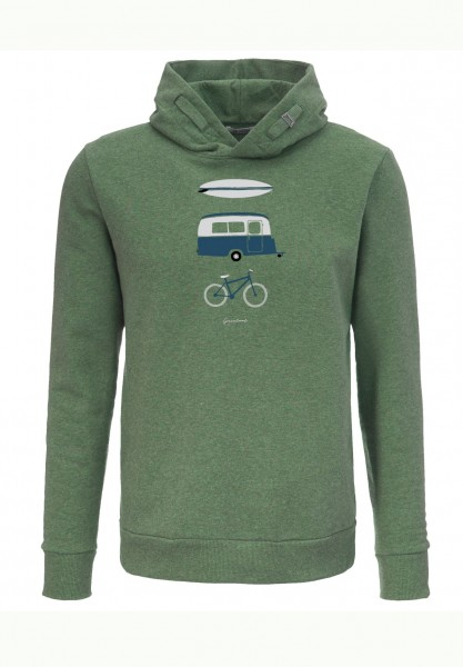 GreenBomb Nature Fun Star Hooded Sweater Men