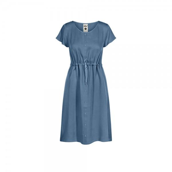Light-Breeze Buttoned Lyocell (TENCEL™) Kleid Women bleed